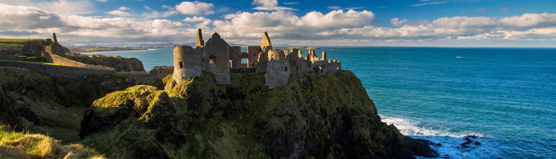 Dunluce Castle - Nordirland - Irland - Reisen